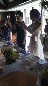 姉の結婚式 in リッツカールトン沖縄